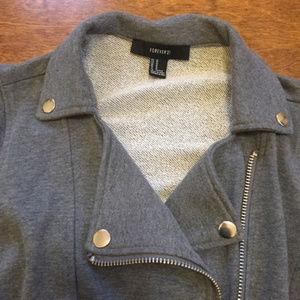Forever 21 Jackets & Coats - Moto Jacket Zippers Goth Punk Rocker Coat Blazer